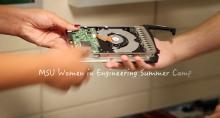 MSU Women in Engineering Summer Camp