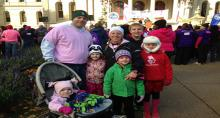 Members of the iCER team participate in Making Strides Against Breast Cancer