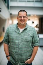 Portrait of Joel Parks - HPC Administrator