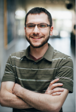 Portrait of Cameron Crisovan - information technologist I